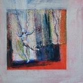 2. Auftritt, Collage 60x60cm